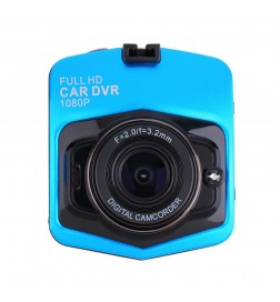 OEM - Mini Car Camera Dvr Parking Recorder Video Camcorder Full Hd 1080p 170 Degree Gt300 Blue