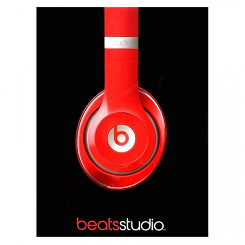 f17e826f508 OEM - Genuine Beats By Dr. Dre Studio 2.0 Wired Over-Ear Headphones With Remotetalk  Red