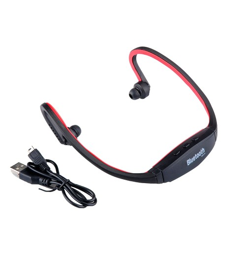 OEM - Sport Wireless Bluetooth 4.0 Stereo Headphone Headset Earphone Handfree For Samsung IPhone Red