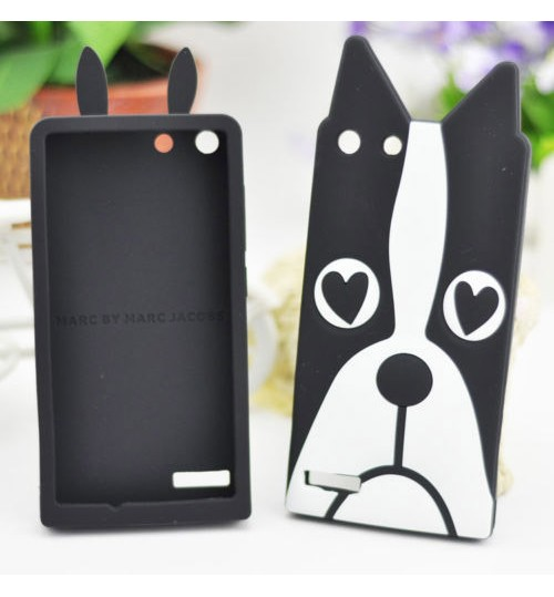Soft Cute 3D Silicone Phone Case Cover For Huawei Ascend G6 Dog Horse Anirmal Dog