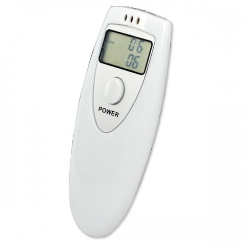 Pocket Police Lcd Digital Breathalyzer Tester Portable