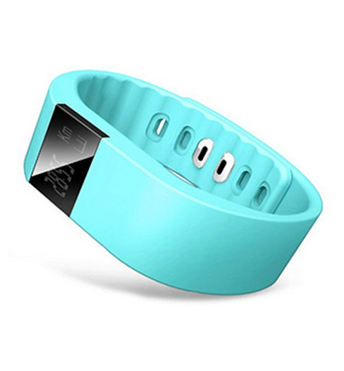 IWOWN - Smartband Waterproof Wristband Fitness Sleep Tracker Pedometer Bluetooth 4.0 For Samsung Iphone Ios Android Blue