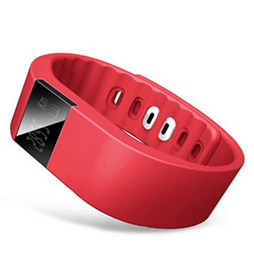 IWOWN - Smartband Waterproof Wristband Fitness Sleep Tracker Pedometer Bluetooth 4.0 For Samsung Iphone Ios Android Red