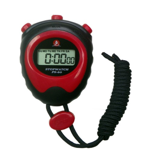 OEM - Stopwatch Second 2 Genuine Electronic Timer Referee Athletics Running Time Split Lap