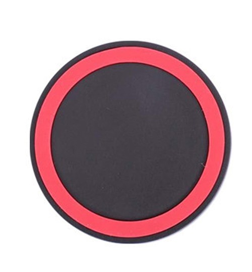 OEM - Wireless Power Charger Portable Charging Pad Plate Qi Station For Samsung Galaxy S3 S4 S5 Note 2 Black Red